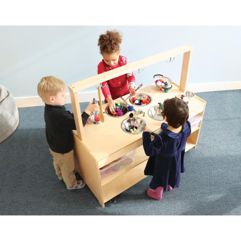 WB0384 Sensory Play Kitchen