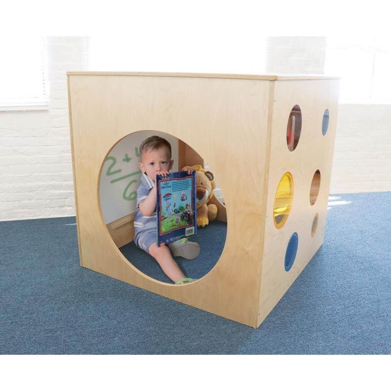 CH0281 - Whitney Plus Porthole Play House Cube