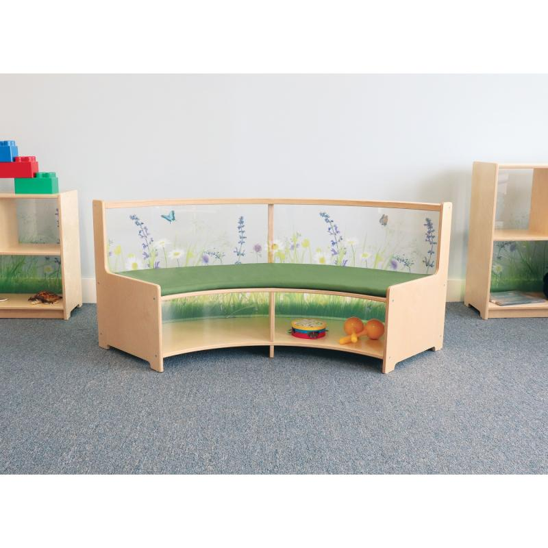 WB0506 Nature View Curve Out Sofa