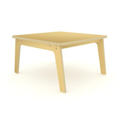 "WS3518M - 35"" Square Maple Table 18"" High"
