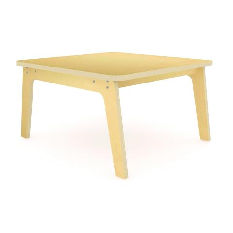 "WS3520M - 35"" Square Maple Table 20"" High"