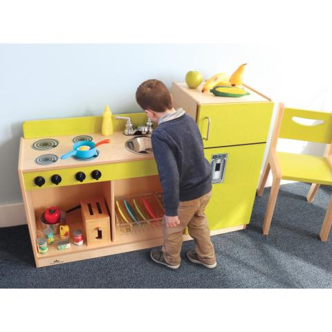 WB2275 Let's Play Toddler Kitchen Combo