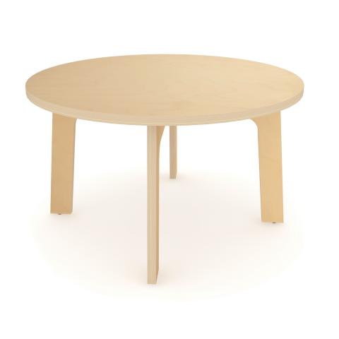 "WX3522M - 35"" Dia Maple Round Table 22"" High"