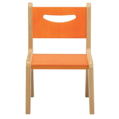 "CR2510O - Whitney Plus 10"" Orange Chair"