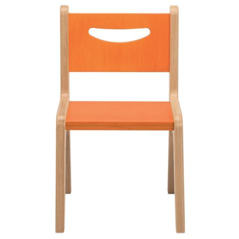 "CR2512O - Whitney Plus 12"" Orange Chair"