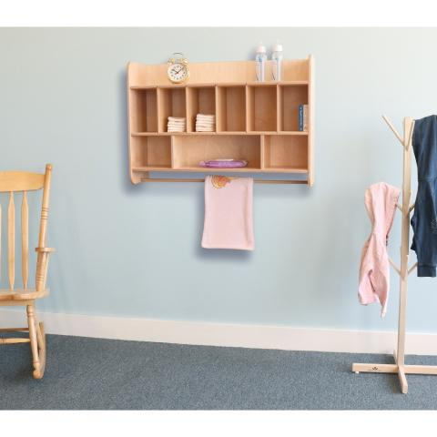 WB4646 - Hang On The Wall Diaper Storage