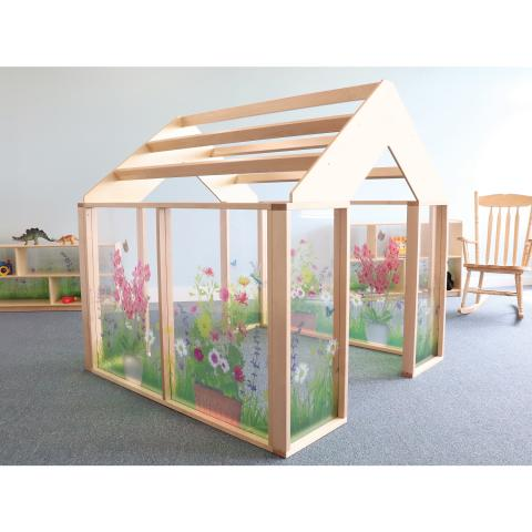 WB0511 Nature View Play Greenhouse