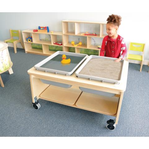 CH4049 - Two Tub Sand And Water Table