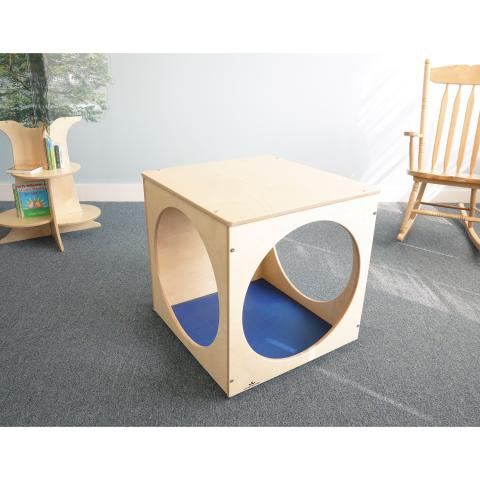 WB0217 Toddler Play House Cube with Floor Mat Set