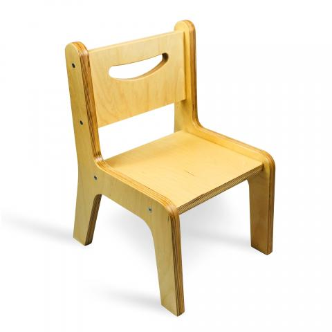 "CR2510N - Whitney Plus 10"" Natural Chair"