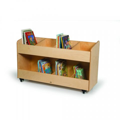WB0296 - Eight Section Book Organizer