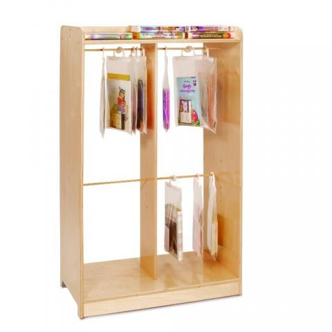 WB0540 - Hanging Bag Storage Unit