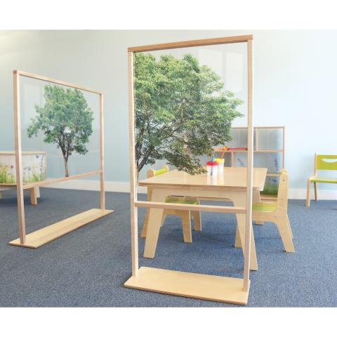 Nature View Floor Standing Partition 25W